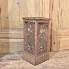 19th Century Hand Painted Swedish Pedestal
