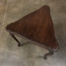 Triangular Country French End Table
