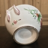 19th Century Hand-Painted Earthenware Soup Tureen from Rouen