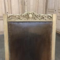 19th Century Renaissance Revival Stripped Oak Armchair