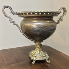 19th Century Bronze Jardiniere