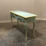 Antique Italian Tuscan Painted Sofa Table