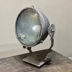 Mid-Century French Industrial Lamp