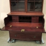 19th Century English Mahogany Secretary - Bookcase