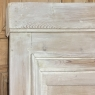 Antique 19th Century French Whitewashed Pine Boiserie Trumeau
