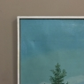 Mid-Century Framed Oil Painting on Canvas, Signed Sade Geets and Dated 1969