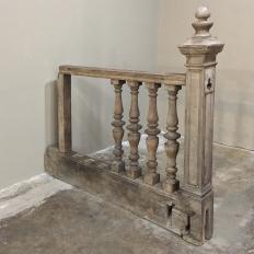 19th Century Corinthian Stair Railing