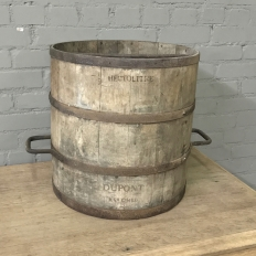 Antique Wooden Grain Measure Bucket