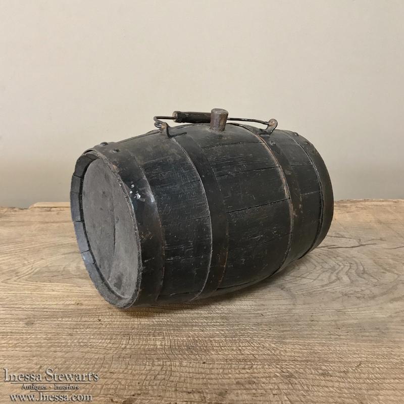 19th Century Small Wine Barrel