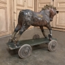 Antique French Toy Horse