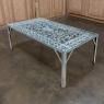 19th Century Iron Panel Coffee Table