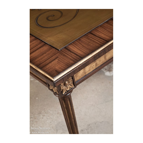 Tables Maitland Smith Elegant Giltwood Coffee Table Previous Next