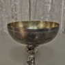Bacchus Silver Plate Toasting Goblet