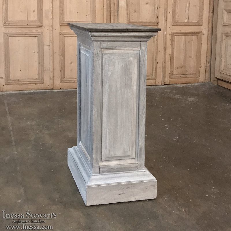 19th Century Painted Pedestal