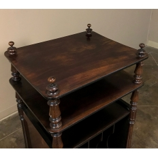 19th Century French Rosewood Music Table