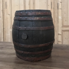 Antique Wine Barrel