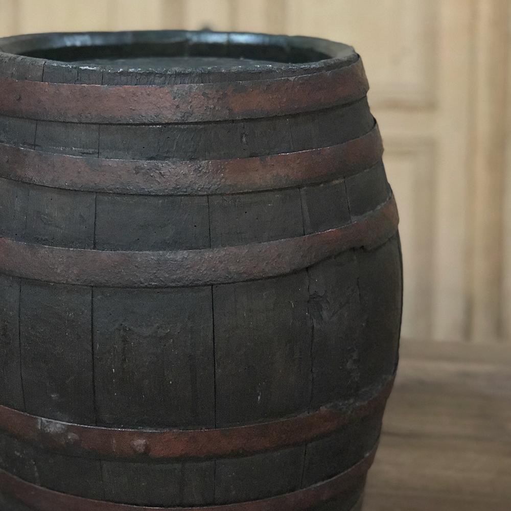 Antique French Wine Barrel Inessa Stewart S Antiques