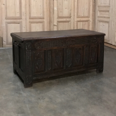 18th Century Rustic Country French Trunk