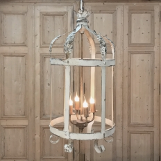 Reproduction Whitewashed Parisienne Lantern
