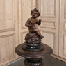 18th Century Hand Carved Wood Statue of a Little Boy