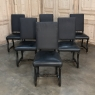 Set of 6 Antique French Os de Mouton Painted Dining ChairsSet of 6 Antique Os de Mouton Painted Dining Chairs