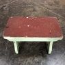 Rustic Antique Dutch Painted Footstool