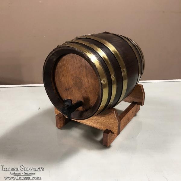 Antique Bar TopPort Barrel