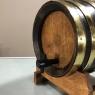 Antique Bar Top Barrel Liquor Dispenser