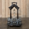 19th Century Black Forest Carved Liqueur Stand