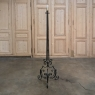 Country French Wrought Iron Floor Lamp