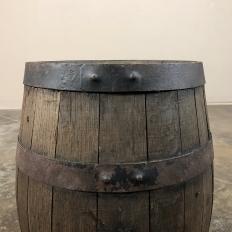 Antique Wine Barrel