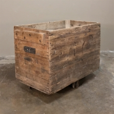 Early 20th Century Rustic Industrial Cart