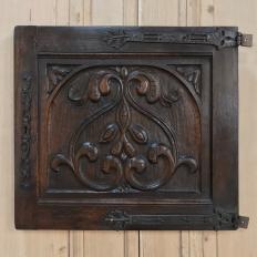 Pair 19th Century Carved Renaissance Panels