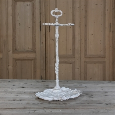 19th Century Painted Cast Iron Umbrella Stand