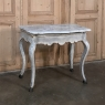 19th Century Swedish Painted Marble Top Console