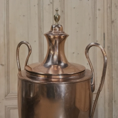 19th Century Copper & Brass Tea Server