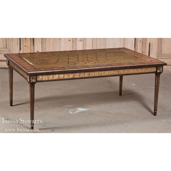 Maitland-Smith Elegant Giltwood Coffee Table