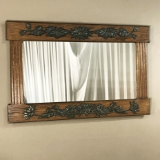 Antique French Art Deco Period Mirror