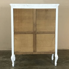 Antique Country French Provincial Painted Cabinet ~ Wardrobe