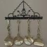 19th Century French Art Nouveau Brass Kitchen Strainer