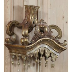 Baroque Gilded Bed Crown
