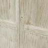 19th Century Swedish Whitewashed Pine Armoire
