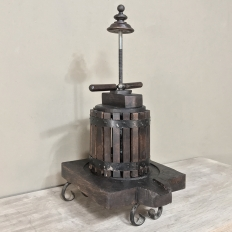 19th Century Fruit Press