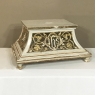 19th Century Gilded and Painted Wood Tabor