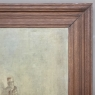 Antique Framed Painting on Canvas