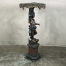 19th Century Hand-Painted Venetian Blackamore Pedestal