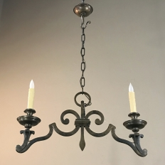 Antique Bronze Hall Chandelier