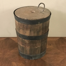 19th Century Rustic Water Bucket