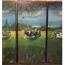 Set of 4 Large Scale Vintage Four Seasons Paintings