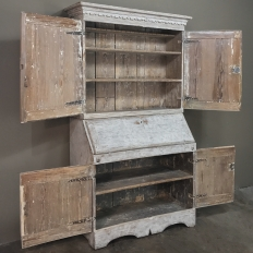19th Century Swedish Painted Secretary